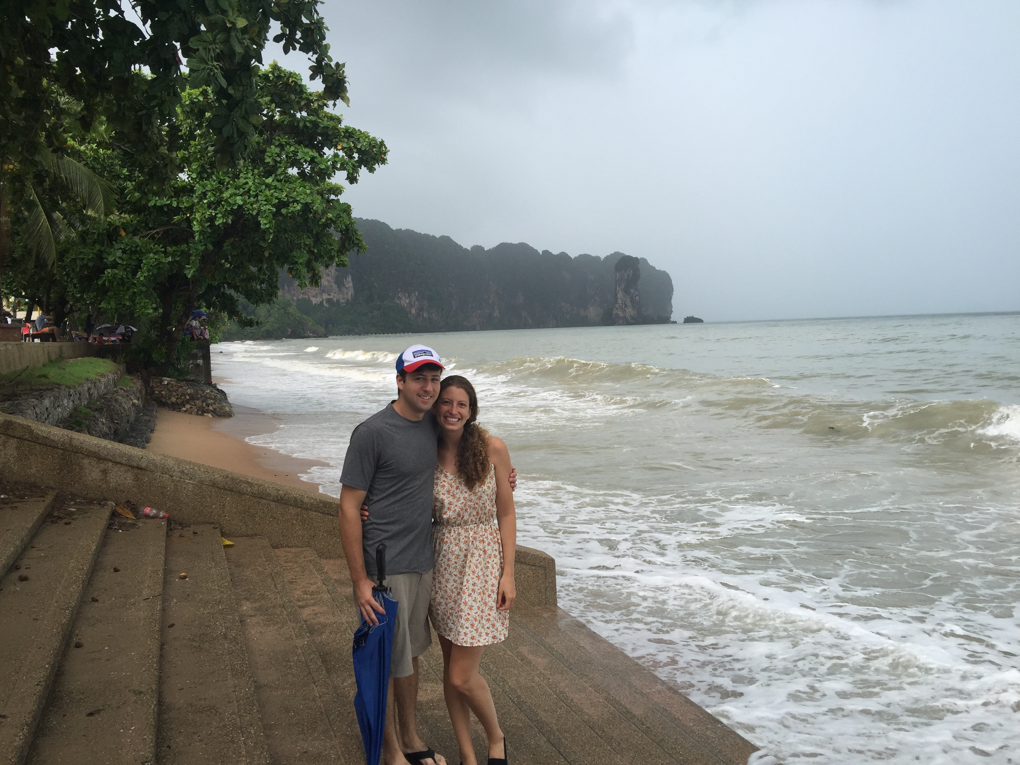 Aonang Beach, Krabi: Emerald Pool, Hot Springs and RAIN RAIN RAIN